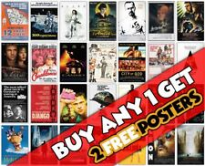 *B19* 2017 NEW MOVIE CINEMA FILM WALL A3 A4 POSTER OPTIONS PRINT BUY1 GET 2FREE