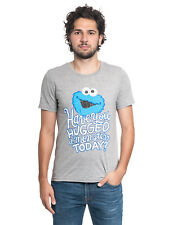 Sesame Street Have you hugged a Monster T-Shirt gray-melange