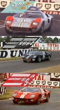 Calcas Ford MkII Le Mans 1966 1 2 3 1:32 1:24 1:43 1:18 64 87 slot GT40 decals