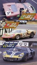 Calcas Ford MkII Le Mans 1966 4 5 6 1:32 1:24 1:43 1:18 64 87 slot GT40 decals