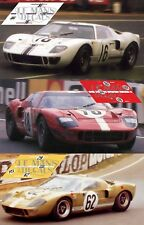 Calcas Ford GT40 Le Mans 1967 16 18 62 1:32 1:24 1:43 1:18 64 87 MkII decals
