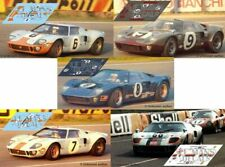 Calcas Ford GT40 Le Mans 1969 6 7 8 9 68 1:32 1:24 1:43 1:18 64 87 MkII decals