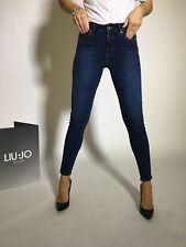 JEANS DONNA LIU JO BOTTOM UP DIVINE H.W. U67022 D4112