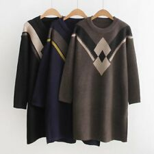 Casual Womens Long Sweaters Warm Winter Clothing Fashion Womens Pullover New Top