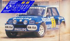 Calcas Renault 5 Maxi Turbo Rally Avilés 1988 5 Slot decals Barreras