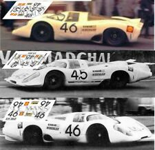 Calcas Porsche 917 LH Le Mans Test 1969 1:32 1:24 1:43 1:18 917k slot decals