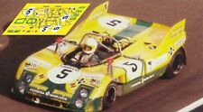Calcas Porsche 908/03 Le Mans 1972 5 1:32 1:43 1:24 1:18 908 03 decals