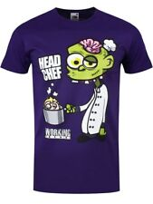 Working Dead Head Chef Männer T-Shirt lila