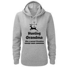 Funny Hunter Gift Hoody - HUNTING GRANDMA - Shooting Gift Idea / Mother's Day