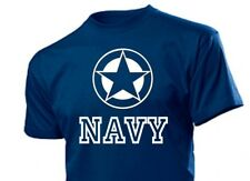 Tee-shirt ALLIED STAR BLEU MARINE US Army Armée de l'air Seals Vietnam taille