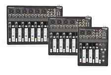 TECHNOSOUND MIXER DA 4, 6, 8 CANALI CON PHANTOM ED EFFETTO ECHO,USB E PLAYER MP3