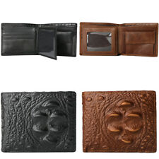 Fashion Men's PU Leather Money Clip Wallet ID Credit Card Holder