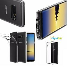 Custodia Cover Back Case 0.38 Ultra Slim Tpu Trasparente per Samsung Galaxy