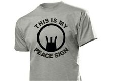 "SNIPER CECCHINO Maglietta "" This Is My Pace SIGN "" Caccia Outdoor Hunting S-XXL"