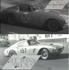 Calcas Ferrari 250 GT SWB Tour France Auto 1960 1:32 1:24 1:43 1:18 slot decals