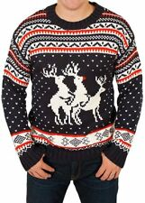 Christmas Jumpers Mens Womens Ladies Xmas Novelty Vintage Unisex All Sizes