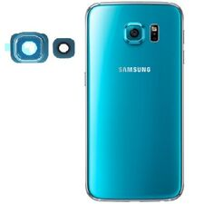 New Samsung Galaxy S6 G920 Rear Back Glass Camera Lens + Frame