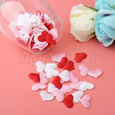 100x Love Heart Flower Petals Wedding Party Engagement Confetti Table Decoration