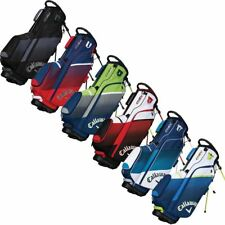 CALLAWAY 2018 CHEV STAND BAG MENS GOLF CARRY BAG 5-WAY DIVIDER