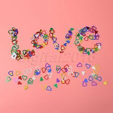 Wedding Hearts Shape Confetti Scatters Married Birthday Party Table Decoration