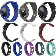Protective Case Cover with Silicone Rubber Wrist Band Strap For ASUS ZenWatch 3