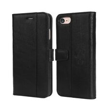 For  iPhone 8 SE 6s 7 Plus Leather Flip Wallet Magnetic Case Cover