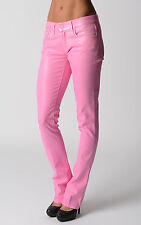 £ 369 Ralph Lauren Womens Ice Pink Stretch Skinny Jeans Gift For Her NWT