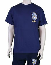 Nypd Nypd Police Back Tee Shirt Navy Mens T-Shirt Nypd