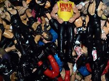 WWE WWF TNA ECW WCW Jakks Deluxe Aggression Wrestling Action Figures