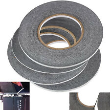 Double Sided Super Sticky Tape Black Strong 5m Craft DIY Roll Adhesive 2 3 4 5mm
