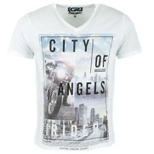 Tee Shirt Horizon city blanc Homme Crossby