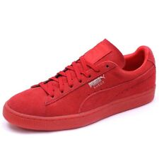 Chaussures Suède Classic Mono Iced Rouge Homme Puma