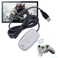 Wireless Adapter Convert Receiver For XBox 360 Controller to Windows PC Games MW