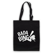 BADA BING UNOFFICIAL SOPRANOS MAFIA STRIP CLUB LOGO TOTE BAG LIFE SHOPPER