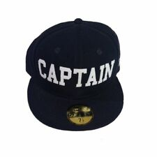 Cappello unisex NEW ERA Fitted Cap AKA 59Fifty Captain in tessuto blue 80129231