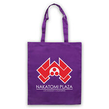 DIE HARD UNOFFICIAL NAKATOMI PLAZA TOWERS ACTION FILM TOTE BAG LIFE SHOPPER