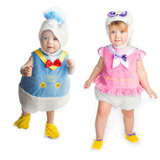BABY TODDLER GIRL DELUXE DISNEY DAISY DUCK PARTY COSTUME OUTFIT GIRLS 1-2 YEARS