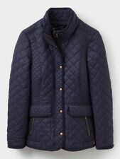 Joules Newdale Ladies Quilted Jacket - Navy or Caramel - Sizes UK 8-16  **SALE**