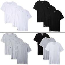 Lacoste Men Underwear Solid Tee 3 Pack Slim Fit Crew-neck T-Shirt NEW Shirts