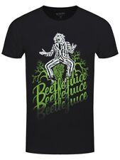Beetlejuice Faded Men's Black T-shirt