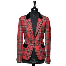 New Luxury Formal Scottish Ladies Tartan Blazer in Royal Stewart - Choose Size