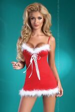 LIVCO CORSETTI Christmas Honey Underwired Chemise and Matching G-String Set