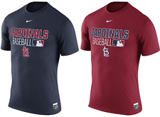 St. Louis Cardinals Nike Authentic Collection Team Issue DRI-FIT T-Shirt  XL & L