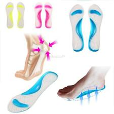 Men Women Silicone Gel Shoes Cushion Shoes Insert Pad Sole Insole New Foot Care