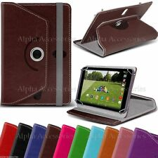 """Universal PU Leather Rotat Folio Stand Case Cover For 8"""" 8 Tab Android Tablet PC"""