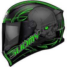 Casco Suomy Speedstar Amlet verde in fibra