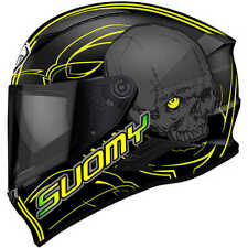 Casco Suomy Speedstar Amlet matt/yellow in fibra kawasaki