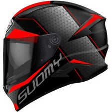 Casco integrale suomy Speedstar Rap red in fibra suzuki