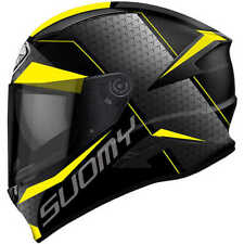 Casco integrale suomy Speedstar Rap yellow in fibra kawasaki