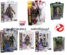Marvel Select Figures- Guardians of Galaxy - Star Lord/Groot/Gomora & More